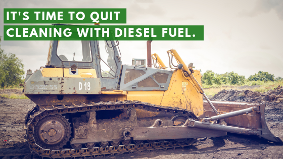 diesel fuel asphalt cleaner